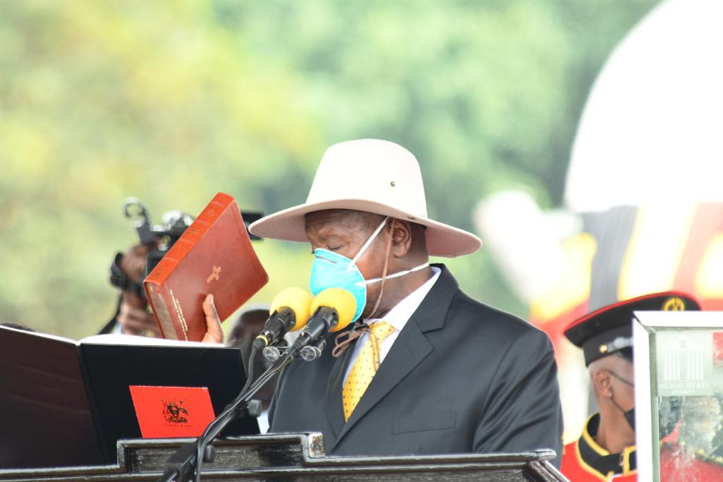 Museveni sworn in for sixth term as Ugandan president - NTV Uganda